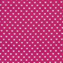 Tissu Minky velours relief à pois bleu canard