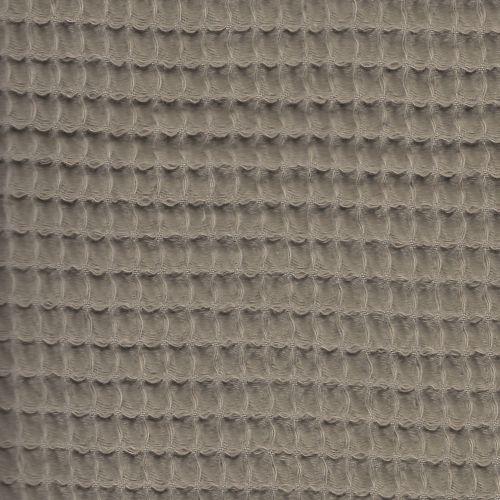 Tissu nid d'abeille taupe