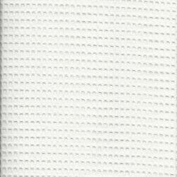 Tissu nid d'abeille blanc 100 % coton