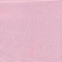 Tissu popeline unie rose