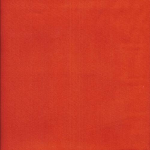 Tissu popeline unie orange