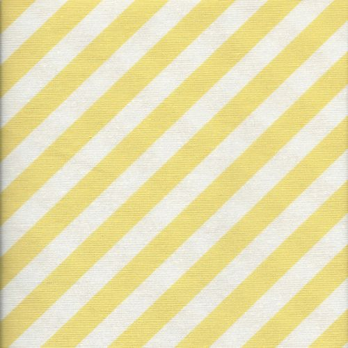 Tissu rayures jaunes