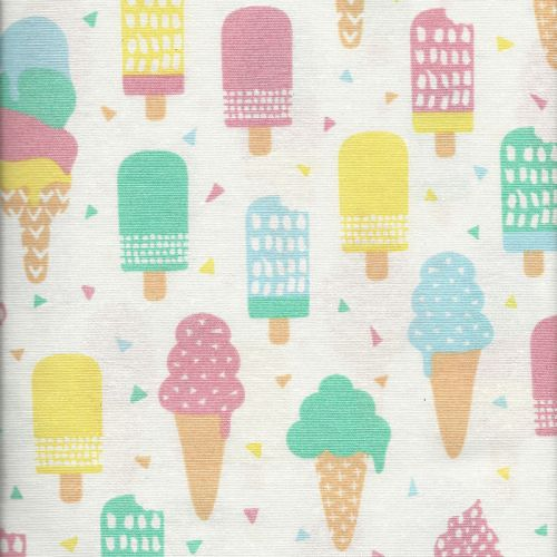 Tissu glaces