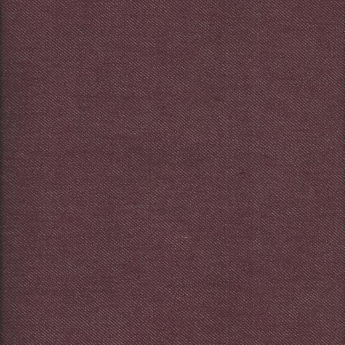 Denim Burgundi 100 % coton bio 300g/m2