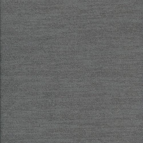Tissu Maille gris/lurex