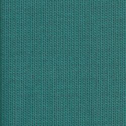 Tissu maille coton BIO effet tricot bleu