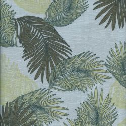Tissu viscose palmes