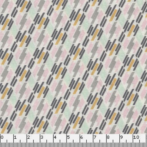 Tissu viscose Cracks Pastels