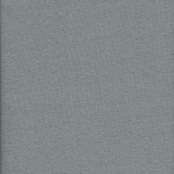 Tissu voile de coton gris