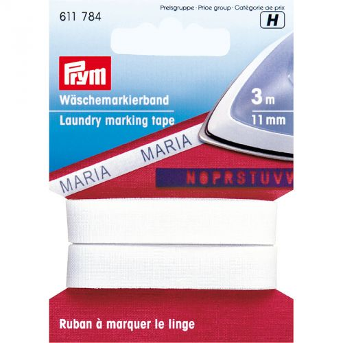 Carte 3m Ruban à marquer 11mm le linge thermocolla
