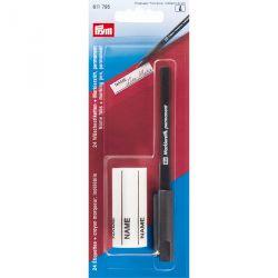 Crayon indélébile + 24 étiquettes