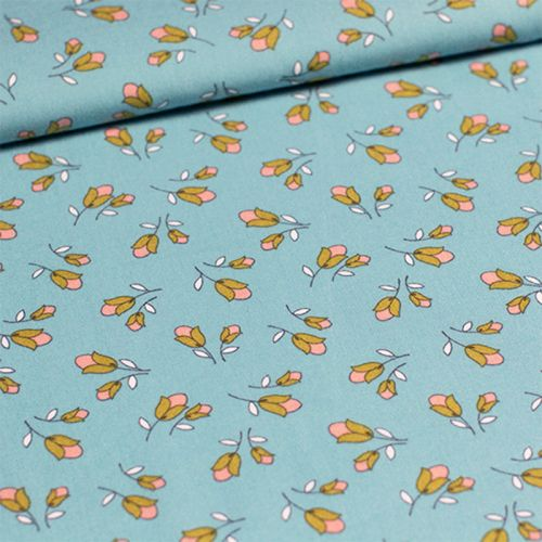 Soft Cactus - Lightening Lily - M - Turquoise Pastel 100%cot