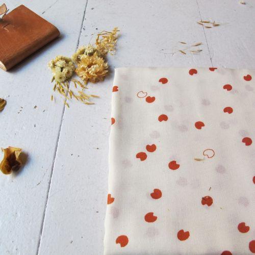 Tissu Cosmic Chesnut - Atelier Brunette 100 % viscose