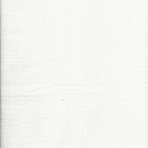 Tissu popeline unie blanc