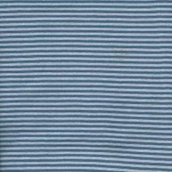 Bord côte rayé marine/bleu ciel