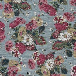 Tissu gaufré fleurs shabby chic