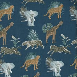 Tissu jersey safari