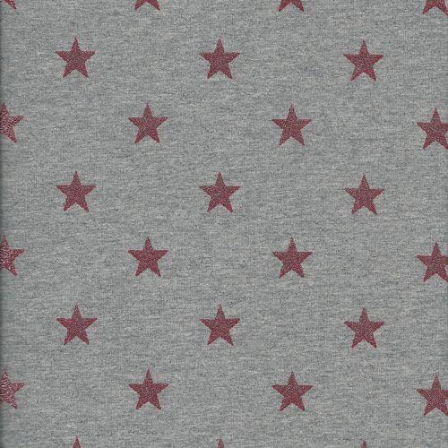 Tissu sw étoiles glitter