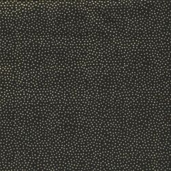 Tissu coton dotty black Makower