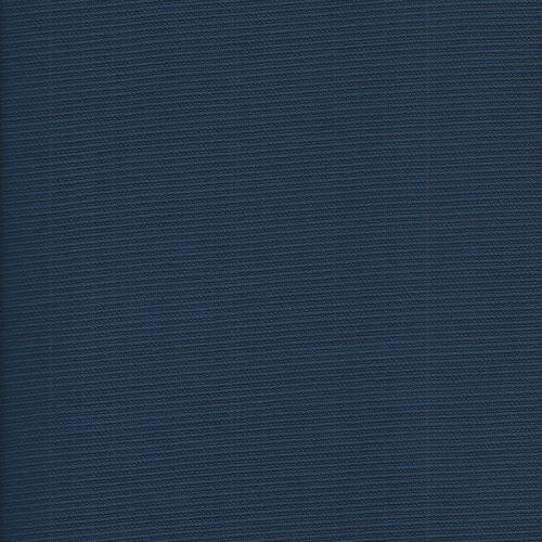 Tissu gaufré bleu Maison Victor
