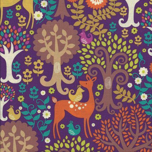Tissu forêt fantastique - Michael Miller