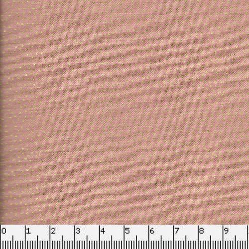 Tissu coton dotty pink Makower