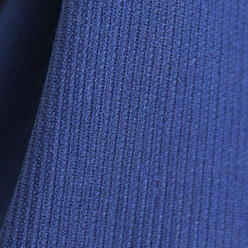 Tissu gaufré bleu