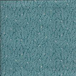 Tissu coton into woods whea blue Makower