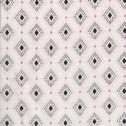 Tissu coton lawn graphique