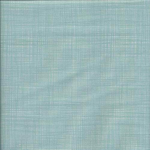 Tissu coton faux uni vert Makower