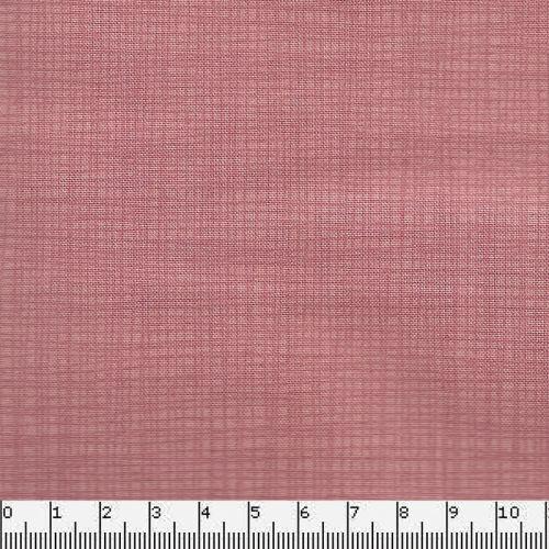 Tissu coton faux uni rose Makower