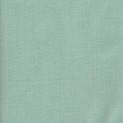 Tissu coton uni vert d'eau
