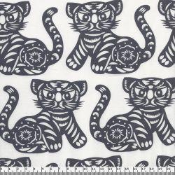 Tissu patch Michael Miller tigres 100 % coton