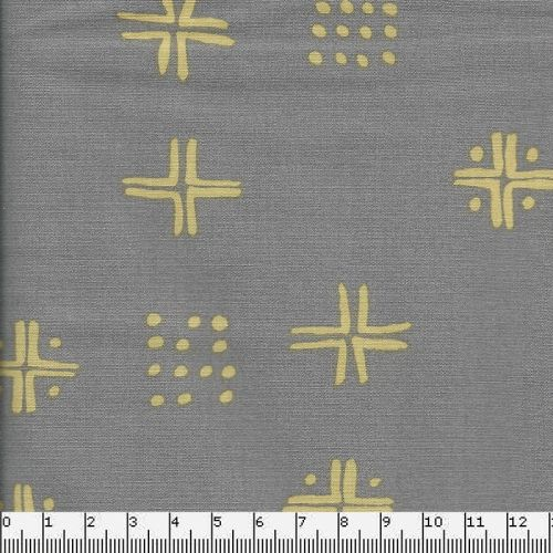 Tissu Tapestry Gris 100% coton