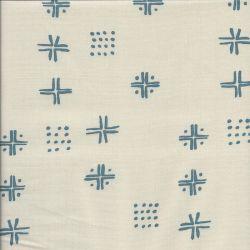 Tissu coton Tapestry Beige