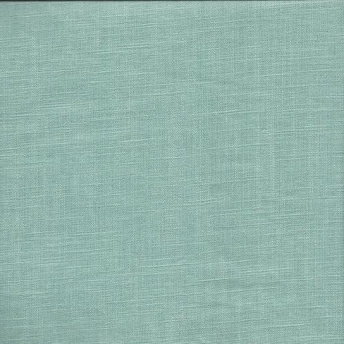 Tissu Lin vert d'eau