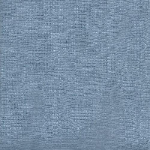 Tissu Lin bleu jean
