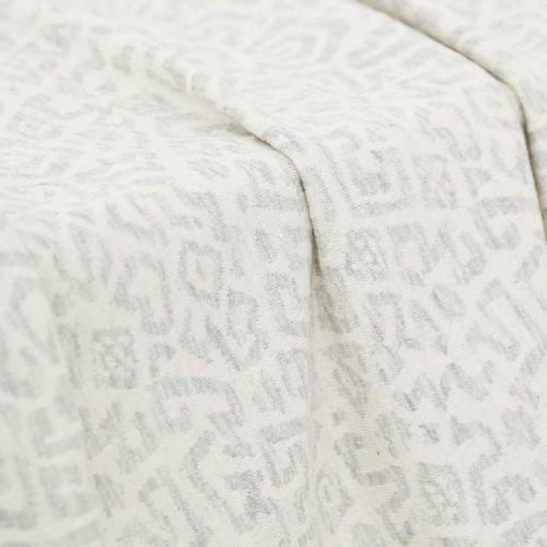 Tissu jersey Maille gris Maison Victor
