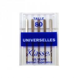 Aiguilles machines universelles 80/12