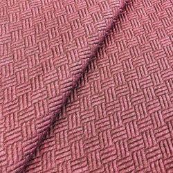 Tissu texturé  bordeaux Maison Victor