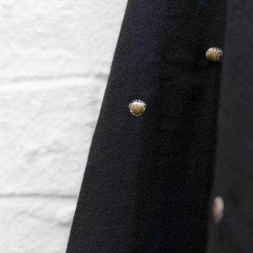 Tissu Stardust black Atelier Brunette