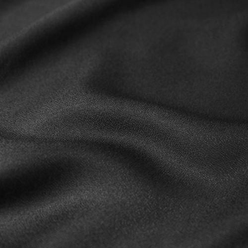 Tissu Crêpe viscose Noir Atelier Brunette