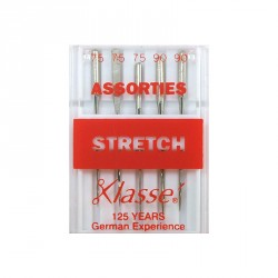 Aiguilles machine stretch assorties