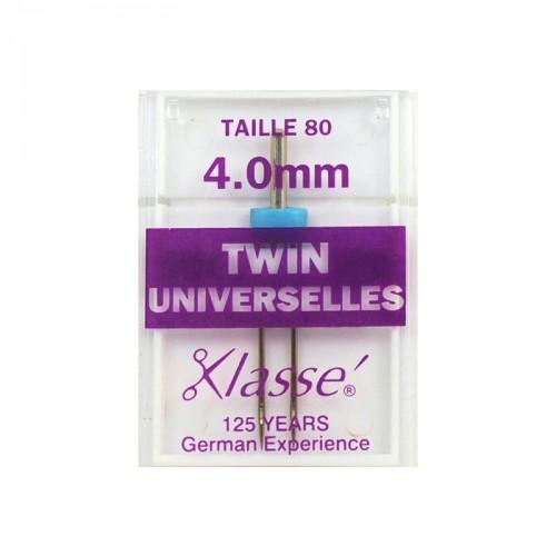 Aiguilles machine double universelle 4mm
