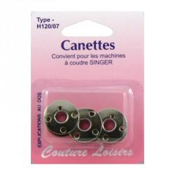 Canettes singer métal X3