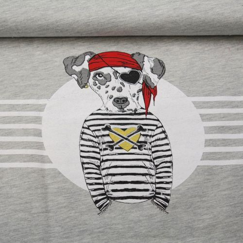Panneau chien pirate 60cmx150cm