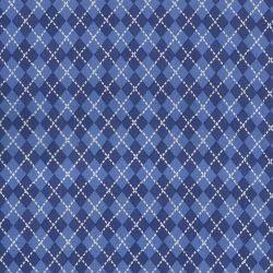 Tissus Jacquard bleu