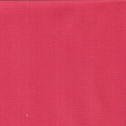 Tissu sergé de coton corail