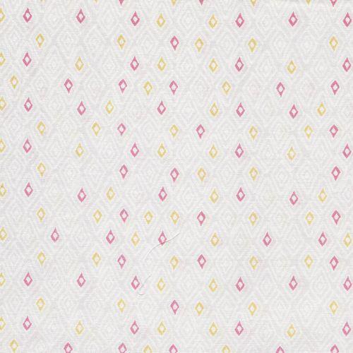 Tissu géométrique fond gris Dashwood studio