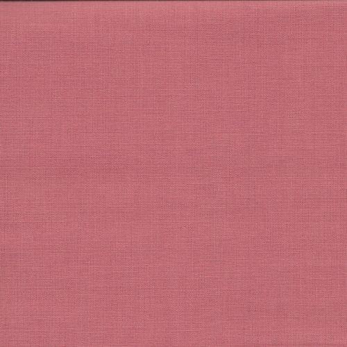 Tissu coton uni saumon